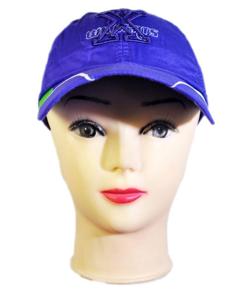 Mantra Purple Polyester Baseball Cap