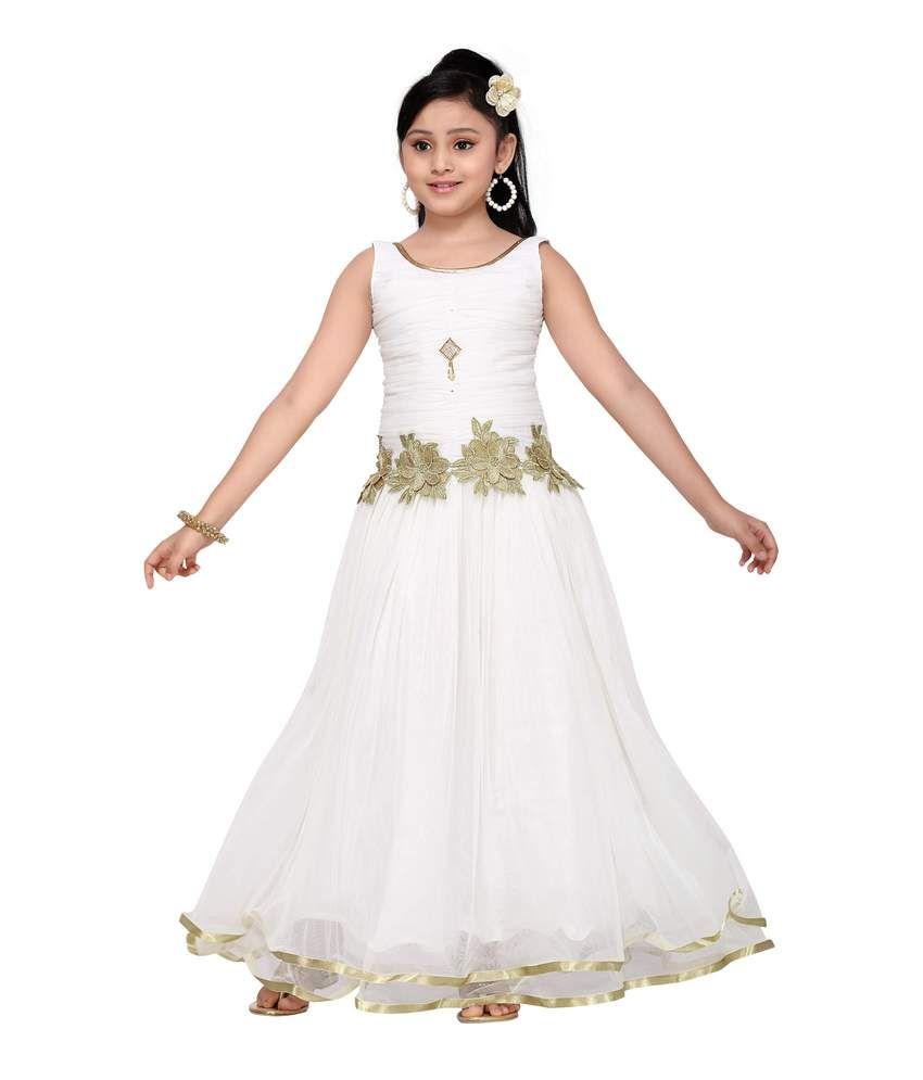 083e4f038 Aarika Girls' Party Wear Gown - Buy Aarika Girls' Party Wear Gown Online at Low  Price - Snapdeal