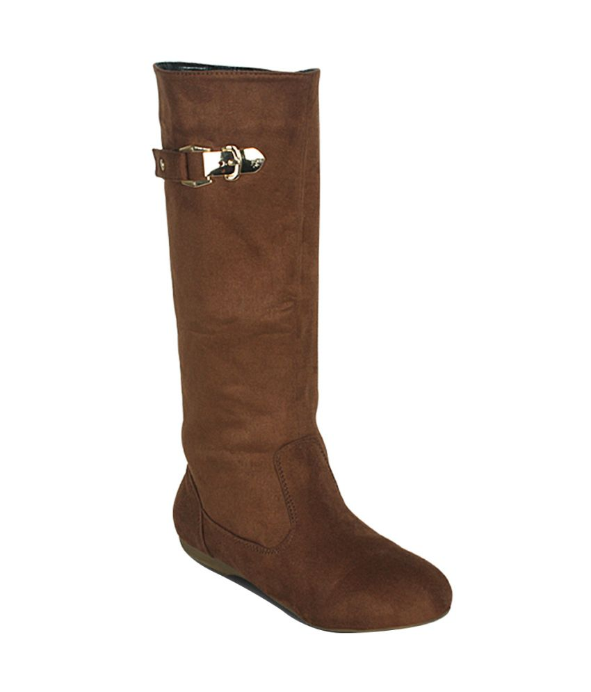 Get Glamr Brown Boots