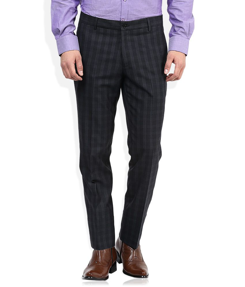 John Players Grey Formal Trouser