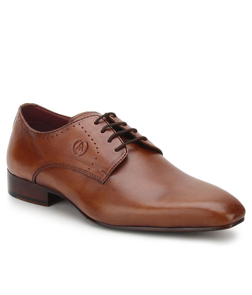 Alberto Torresi Black Formal Shoes Price in India- Buy