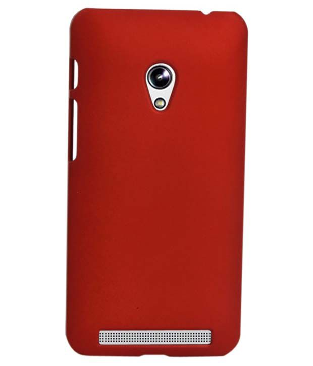 reputable site 6faf0 5b458 G-Mos Back Cover Case For Micromax Canvas Spark Q380 - Red