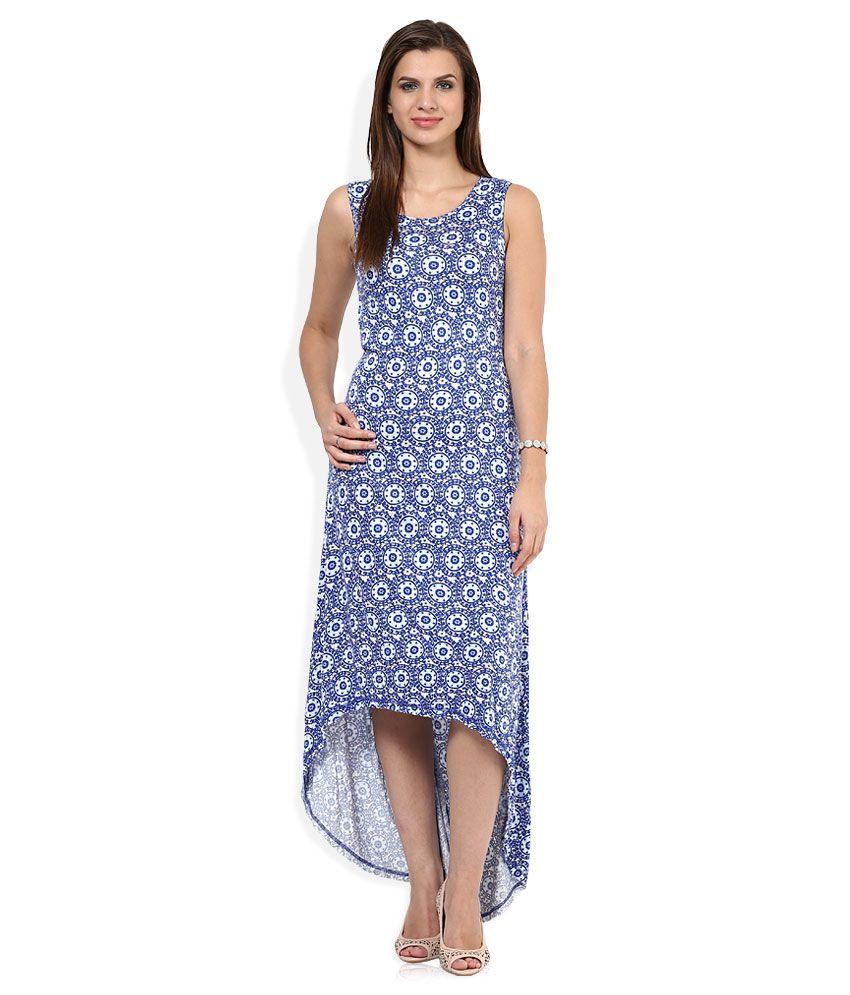 16baefb7df4 Global Desi Blue Dress Price in India