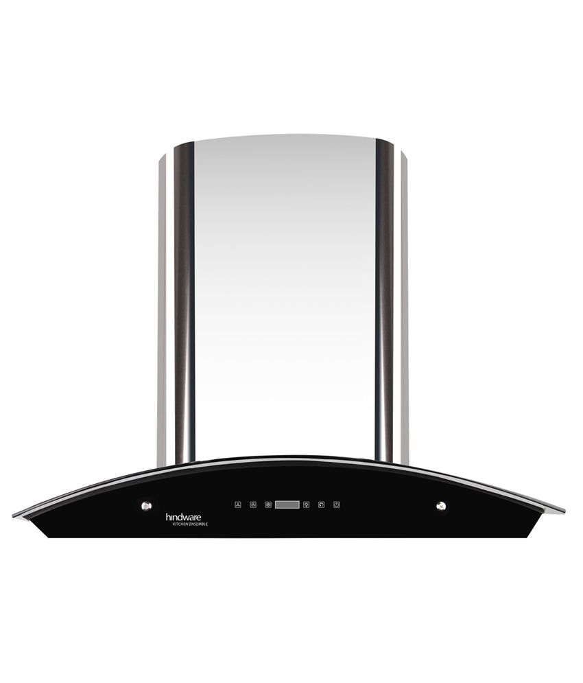 Hindware Nevio 60 1200 M3 H 60 Cm Stainless Steel Hood Chimney With 5 Year Warranty On Motor