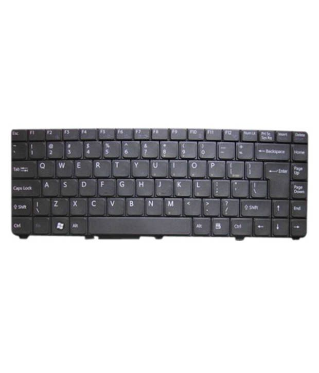 4D sonyc-series Black Wireless Replacement Laptop Keyboard Keyboard