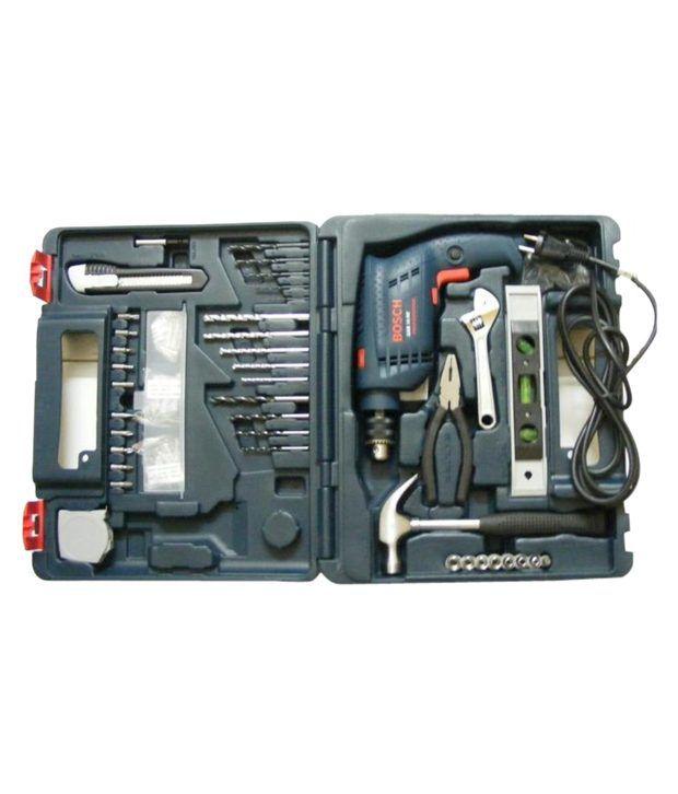 Bosch Gsb 10 Re 10 Mm Drill 100 Pcs Accessories Tool Kit Black