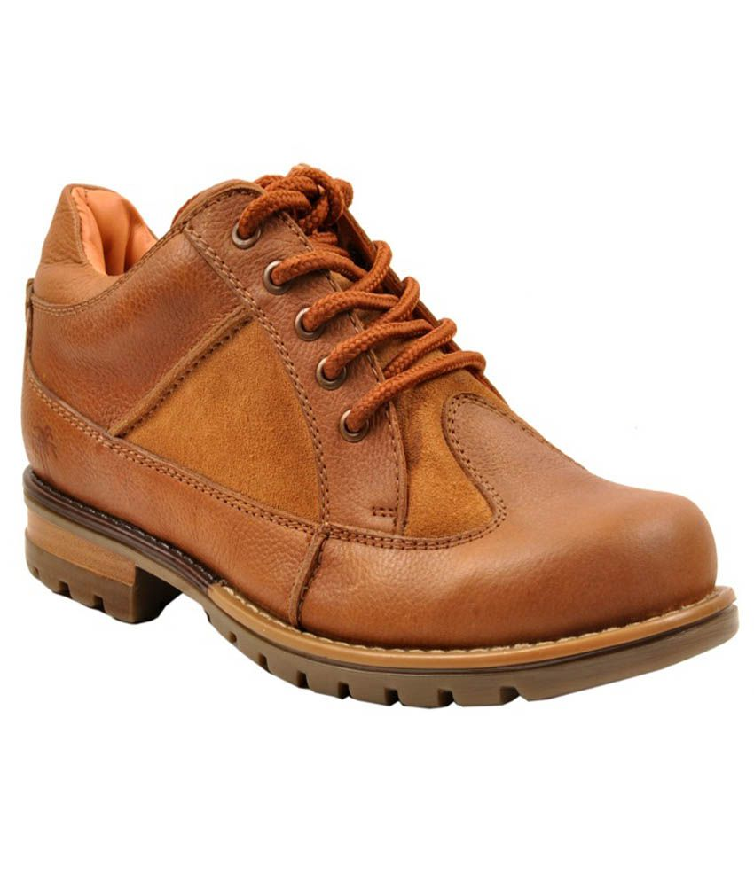 Fighter Tan Boots