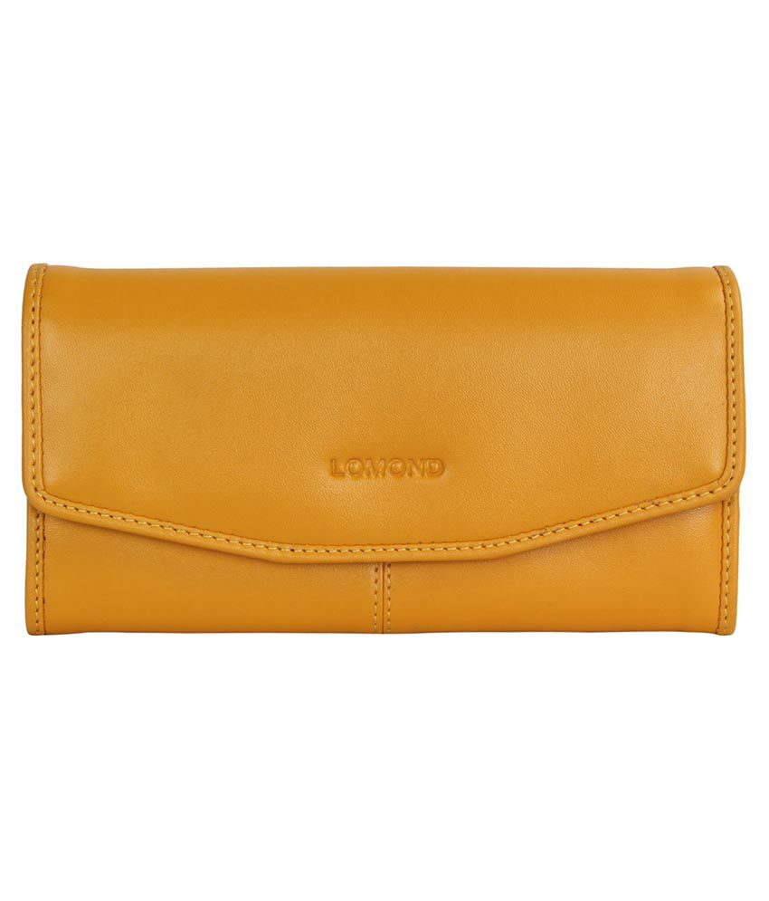 Lomond Yellow Bifold Wallet
