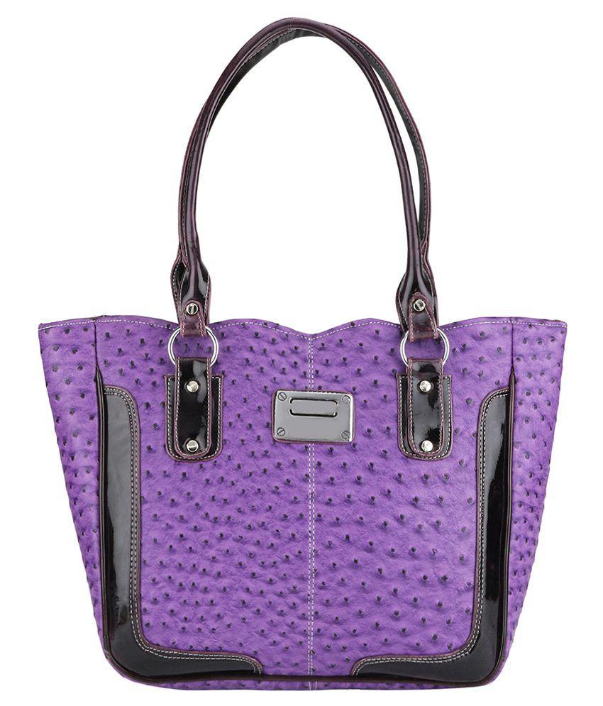 Indian Style Shoulder Bag-Purple