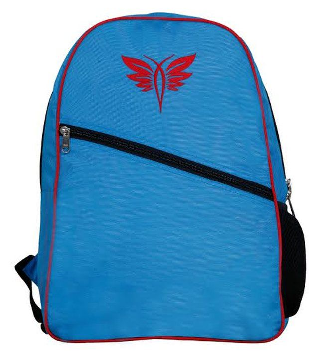 Pee Fashion Laptop Compatibility Blue Polyester Backpack