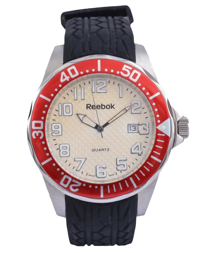 Reebok Red Dial Analog Casual Watch