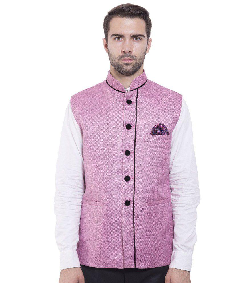 Wintage Pink festive Waistcoats