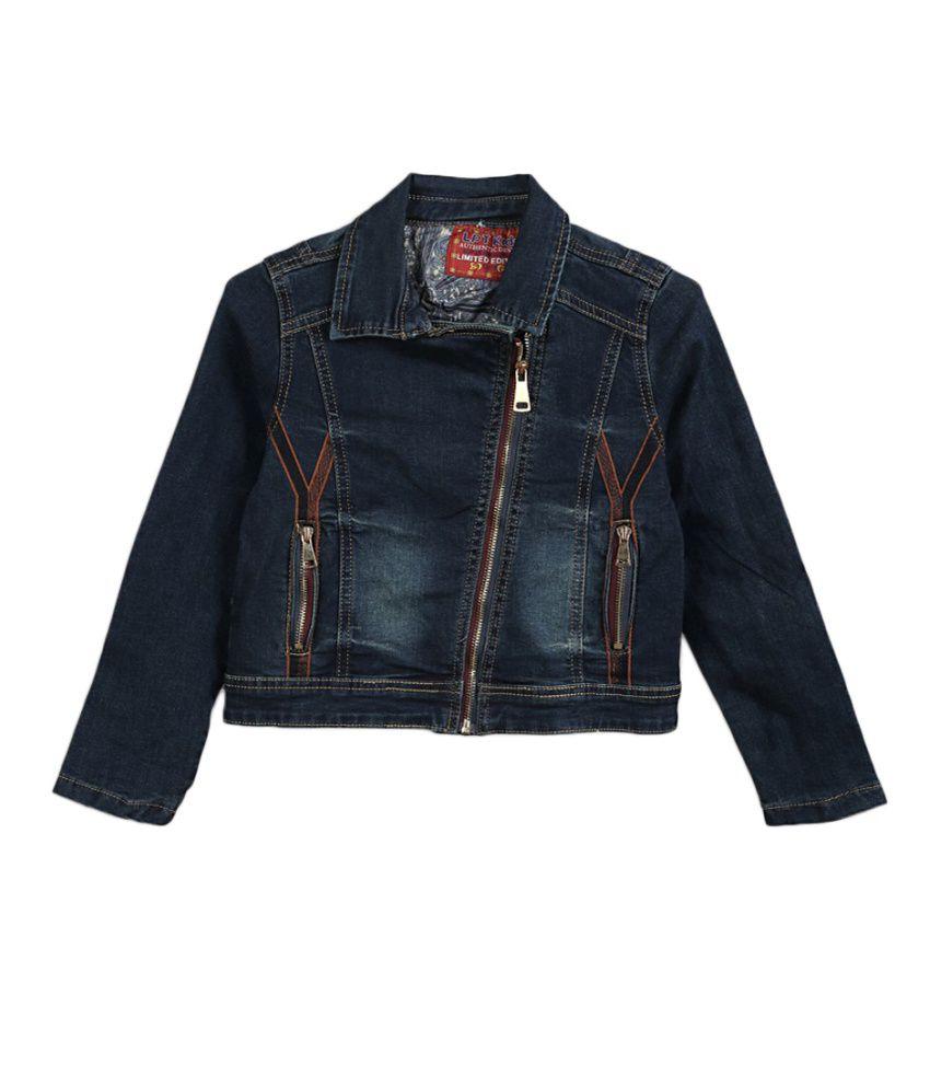 Lilliput Blue Cotton Denim Jacket