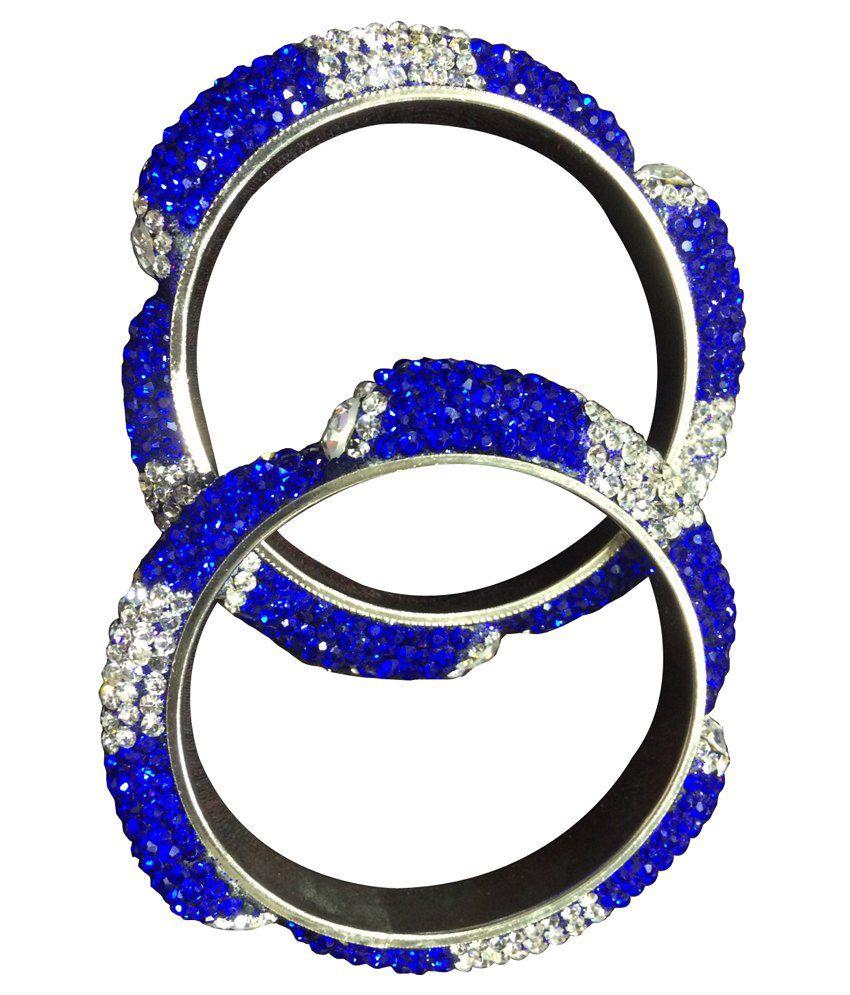 New Zahra Blue Bangles