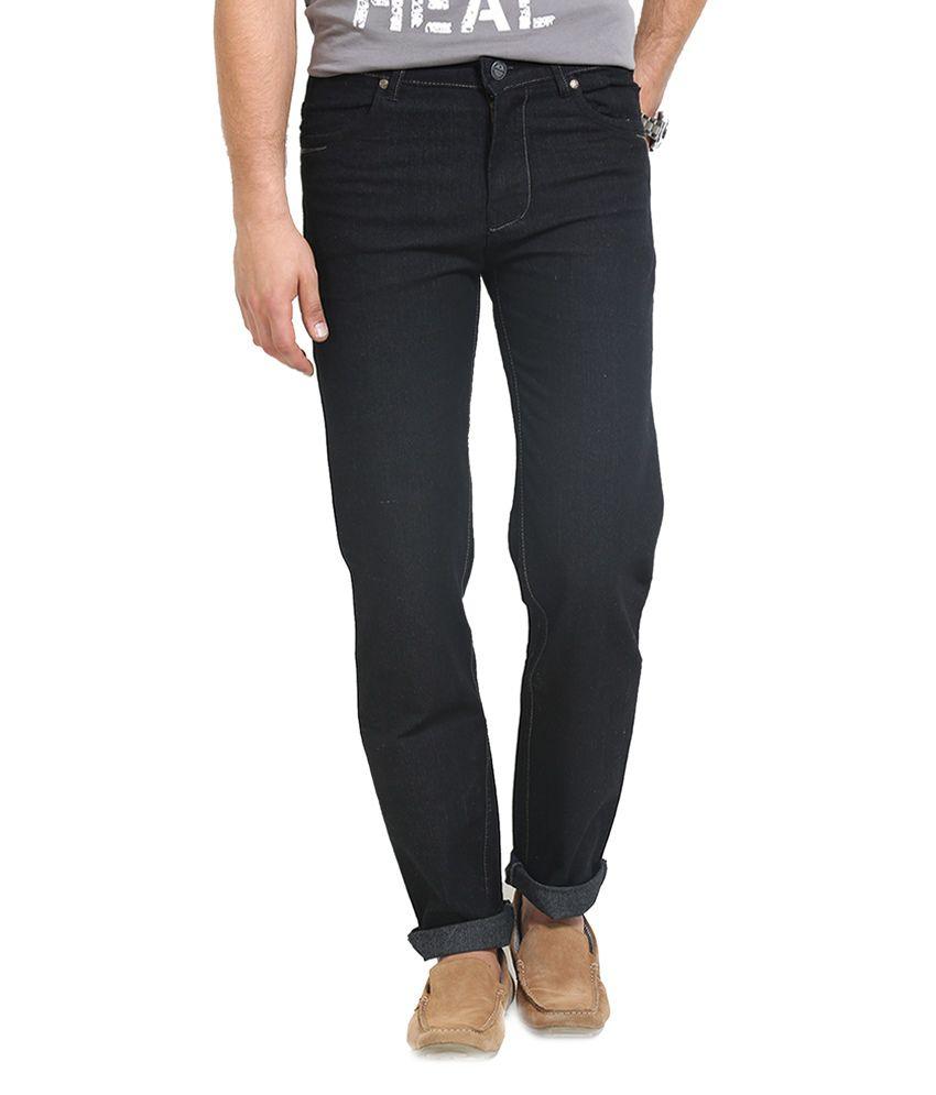 Police Navy Slim Fit Jeans