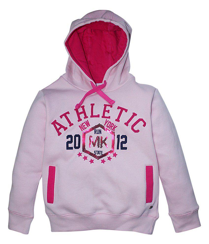 FS MiniKlub Pink Hooded Sweatshirt