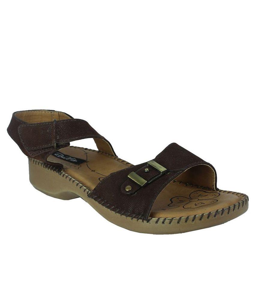 Raw Hide  Brown Heels