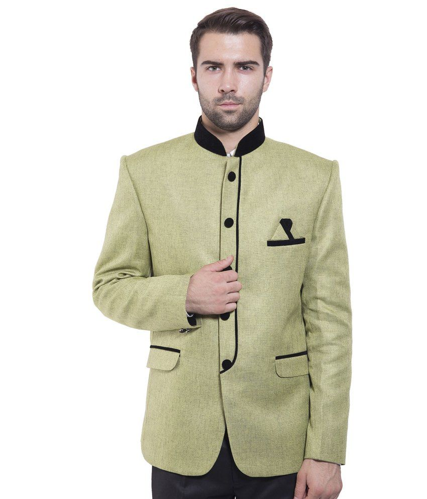 Wintage Green festive Blazer