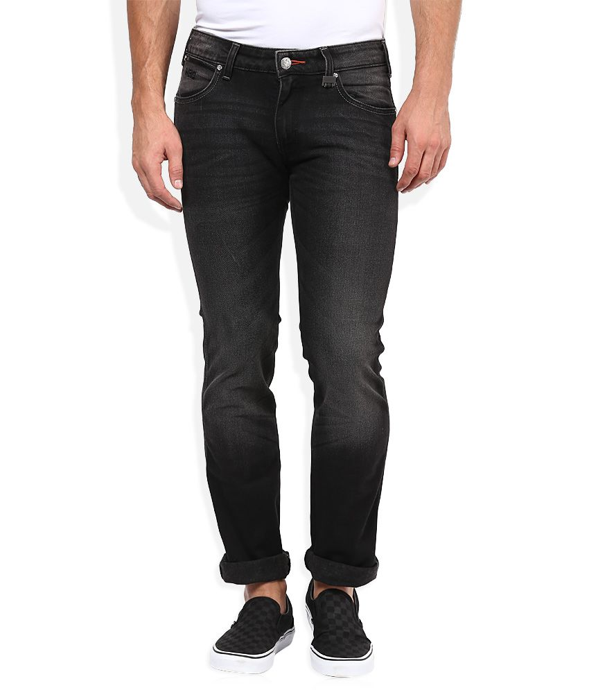 Wrangler Grey Slim Fit Traveler Jeans