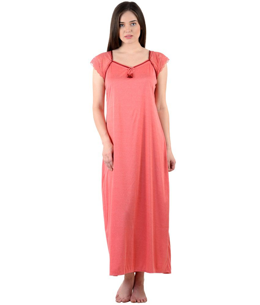 e38dc66046 Buy American-Elm Women Stylish Sexy Nighty- Pack of 3 Online at Best ...