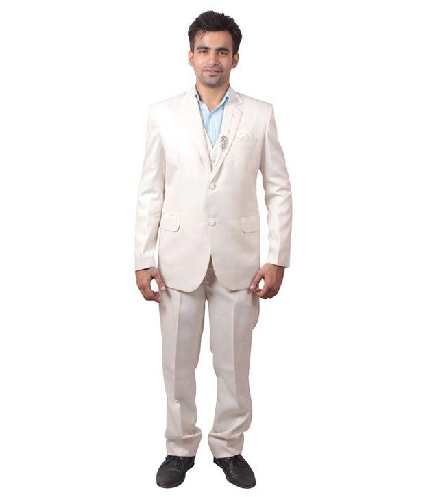Shaurya-F Off-White Festive Suit