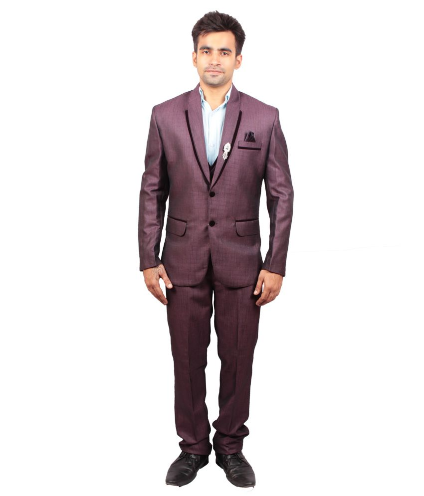 Shaurya-F Purple Festive Suit
