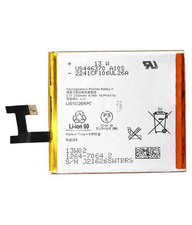 Sony Ericsson LIS1502ERPC battery (for Xperia Z C6603 C6602 LT 36i )