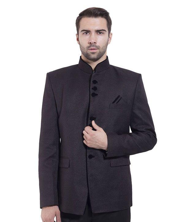 Wintage Black Rayon Blazer