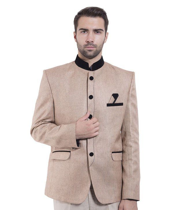 Wintage Brown Rayon Blazer