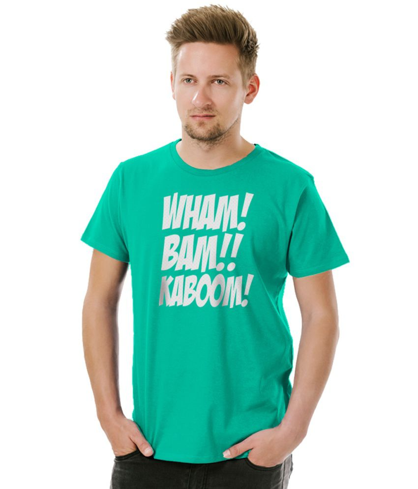 Socratees Green Cotton T Shirt