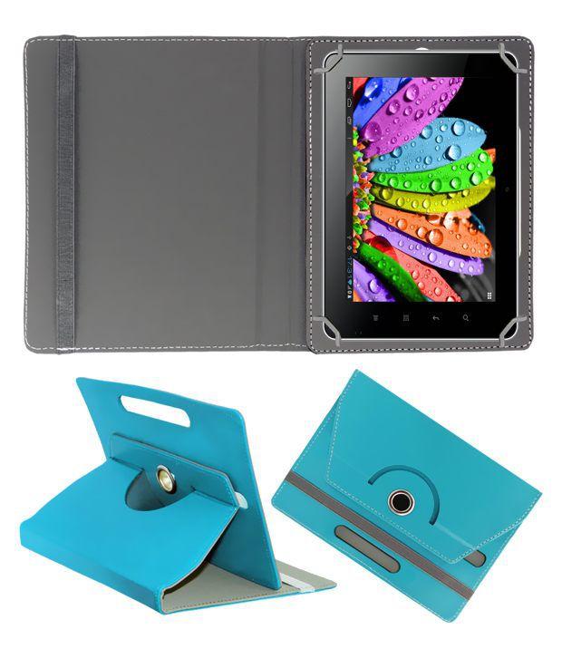 Acm Flip Cover For Samsung Galaxy Tab 4 T331 - Blue