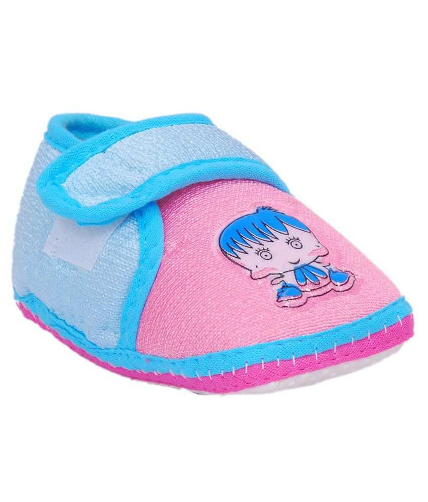 Brats N Angels Multicolor Fabric Shoes