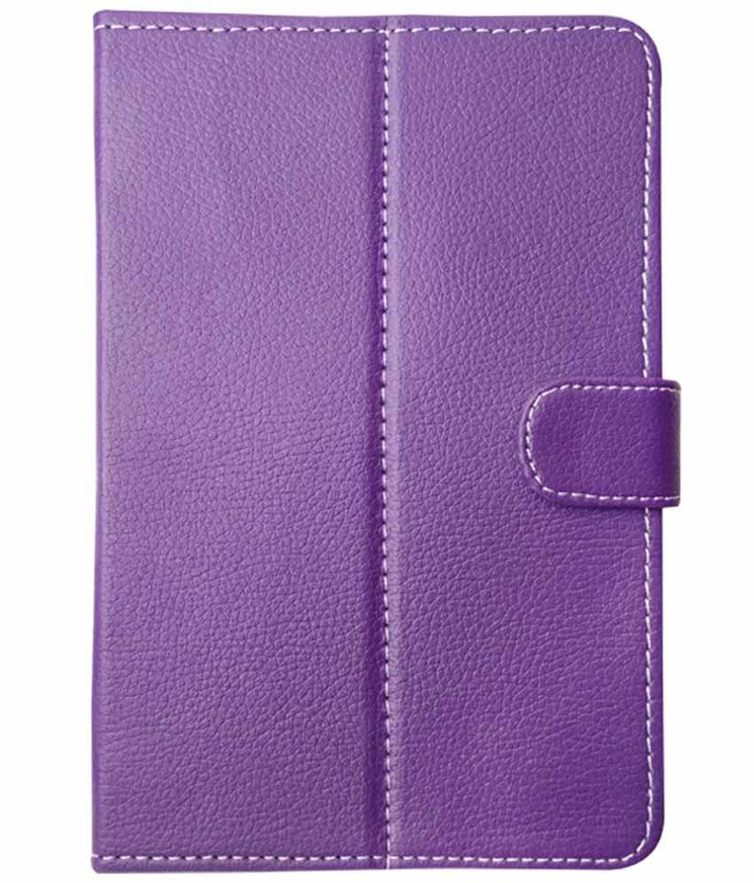 Fastway Flip Cover For Bsnl Penta PS650 Tablet - Purple