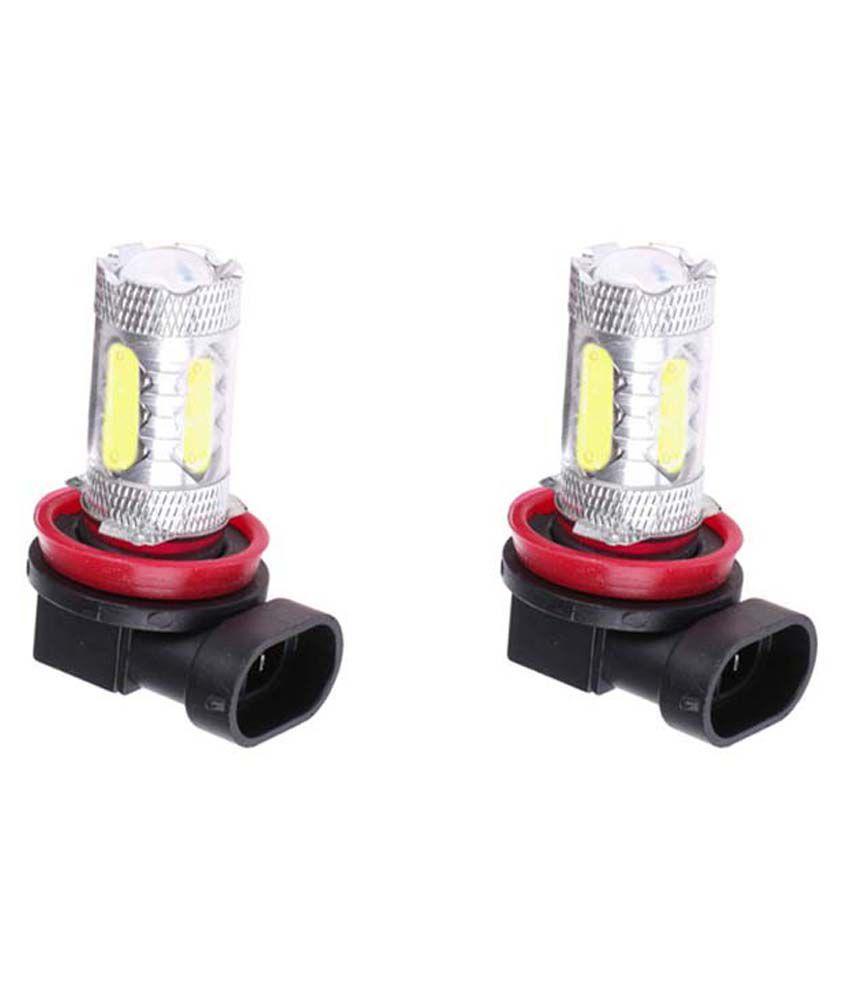 Harman Car H8 Fog Ligh LED Bulbs For Hyundai Eon Set Of 2