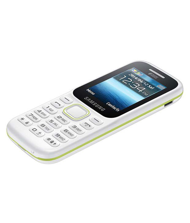 Samsung B310e White Feature Phone Online At Low Prices