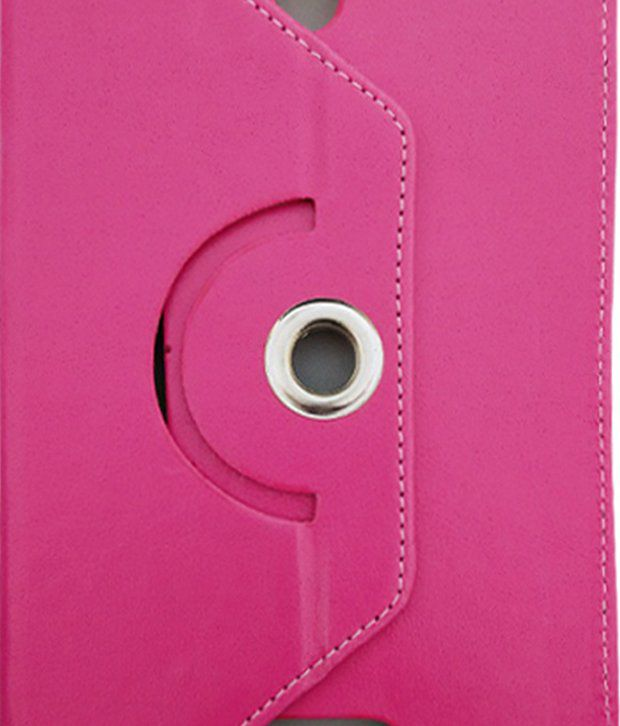 Fastway Flip Cover For HCL Me X1 Wifi 3 G Tab - Pink