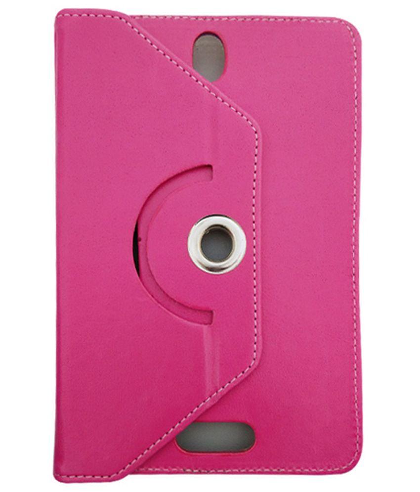 Fastway Flip Cover For Huawei MediaPad X1 - Pink