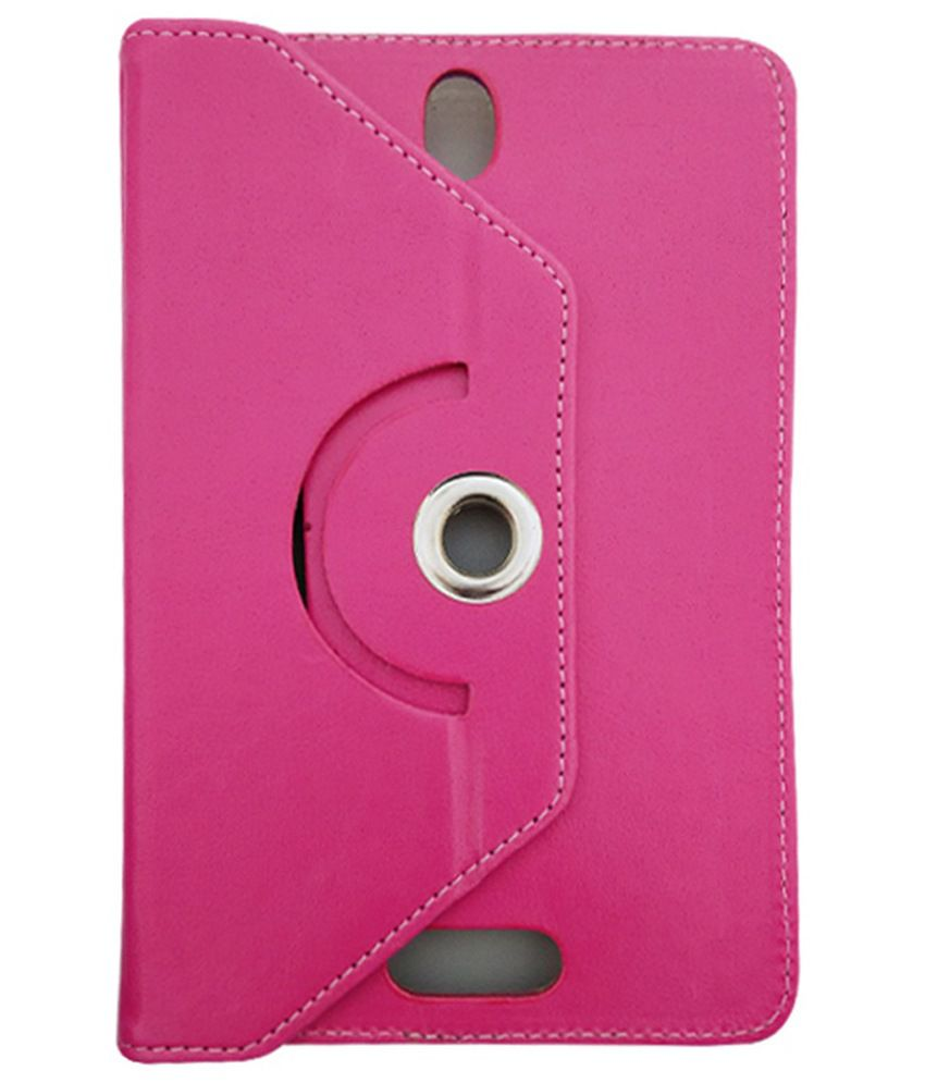 Fastway Flip Cover For Samsung Galaxy Tab 3 GT-P3200 - Pink