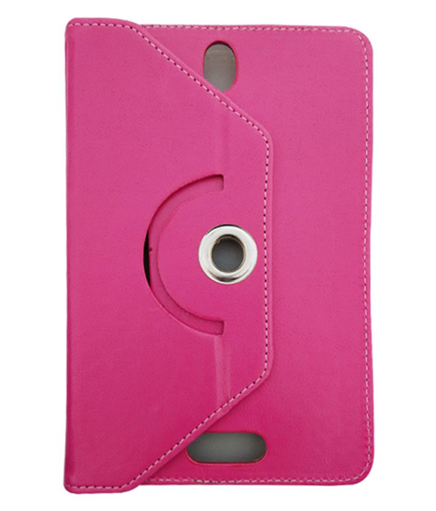 Fastway Flip Stand Cover For Swipe Float Tab X -Pink