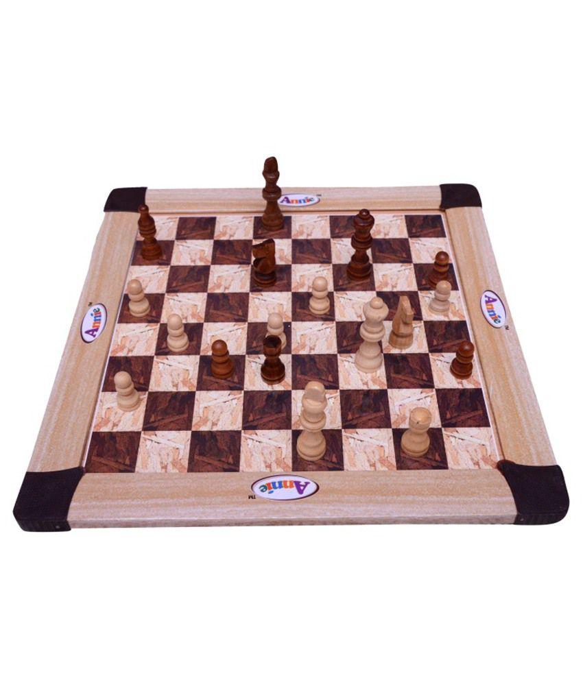 Majestic Multicolour Wooden Chess Board