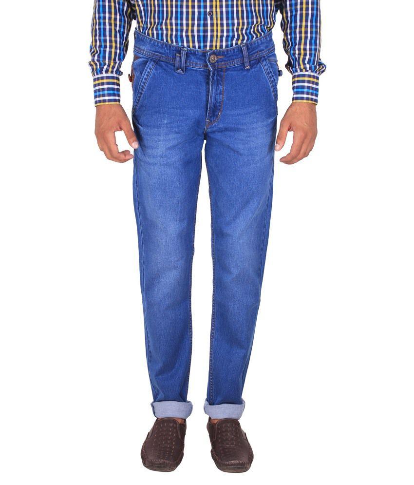 Fluidic Navy Regular Fit Jeans