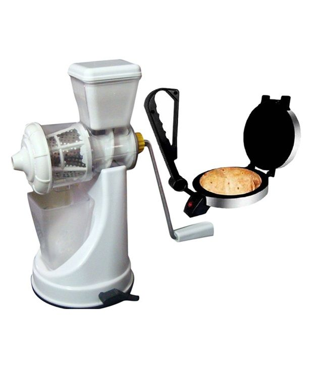 Zaisch Roti Maker with Fruit & Vegetable Juicer