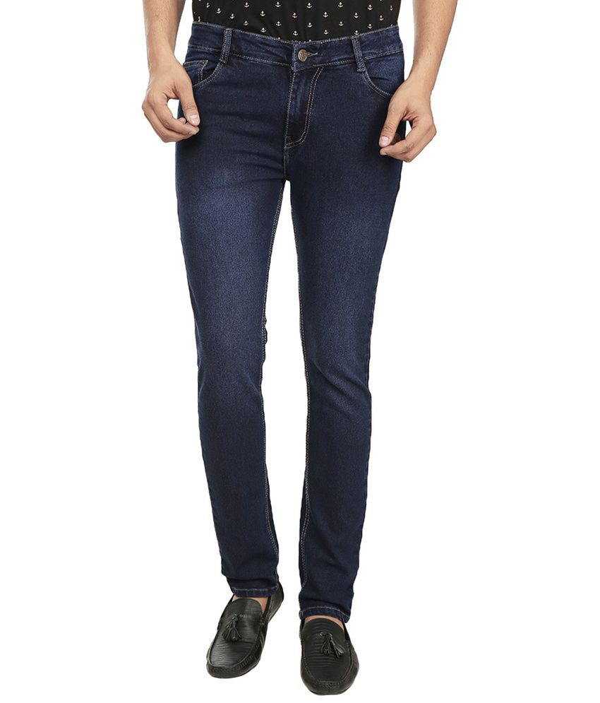 Fashion Flag Blue Slim Fit Jeans
