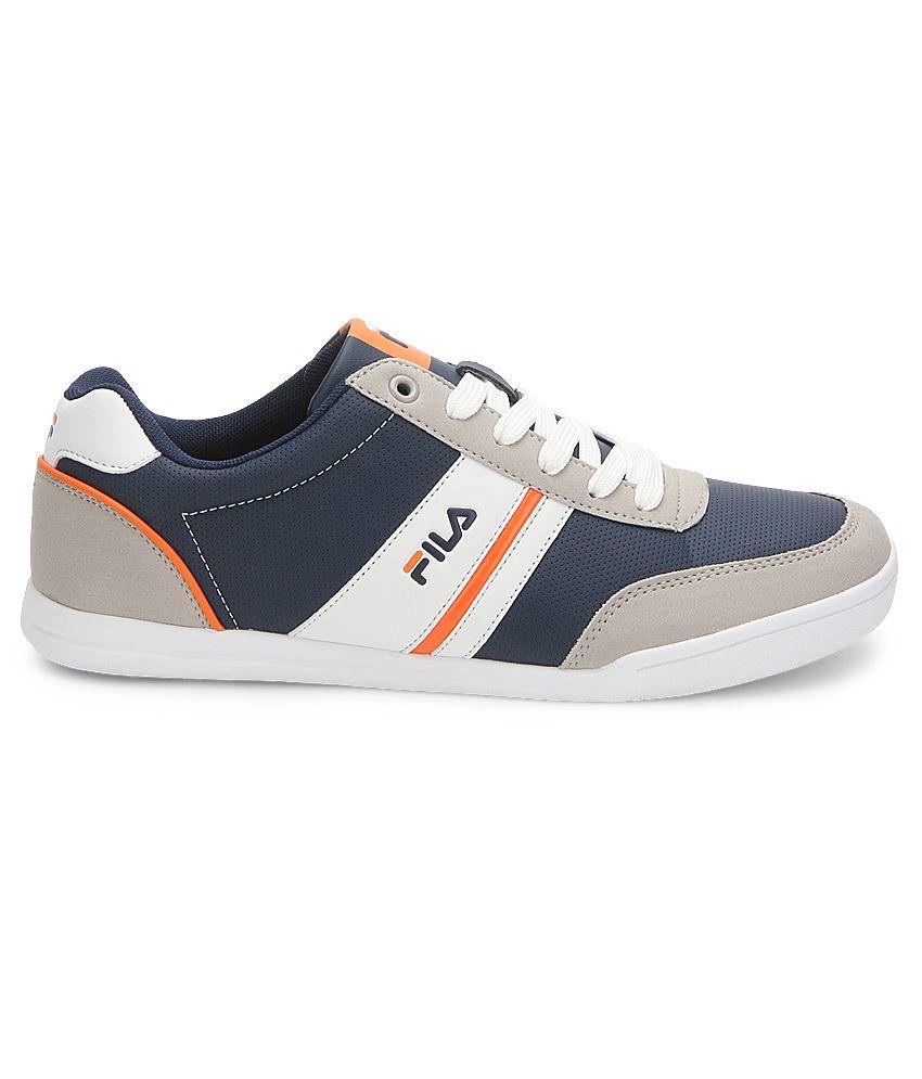 e7ae1f5133e5 Fila Gray Lifestyle Shoes - Buy Fila Gray Lifestyle Shoes Online at ...