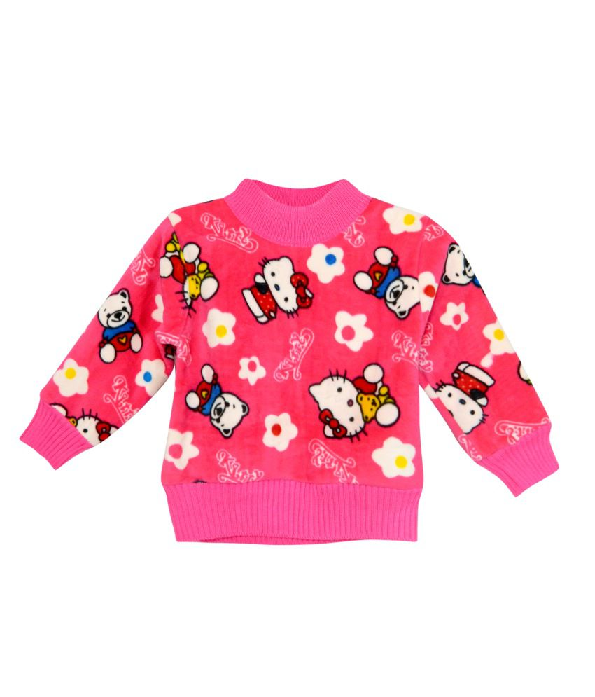Bella Moda Multicolour Fleece Sweatshirt - Pack Of 2