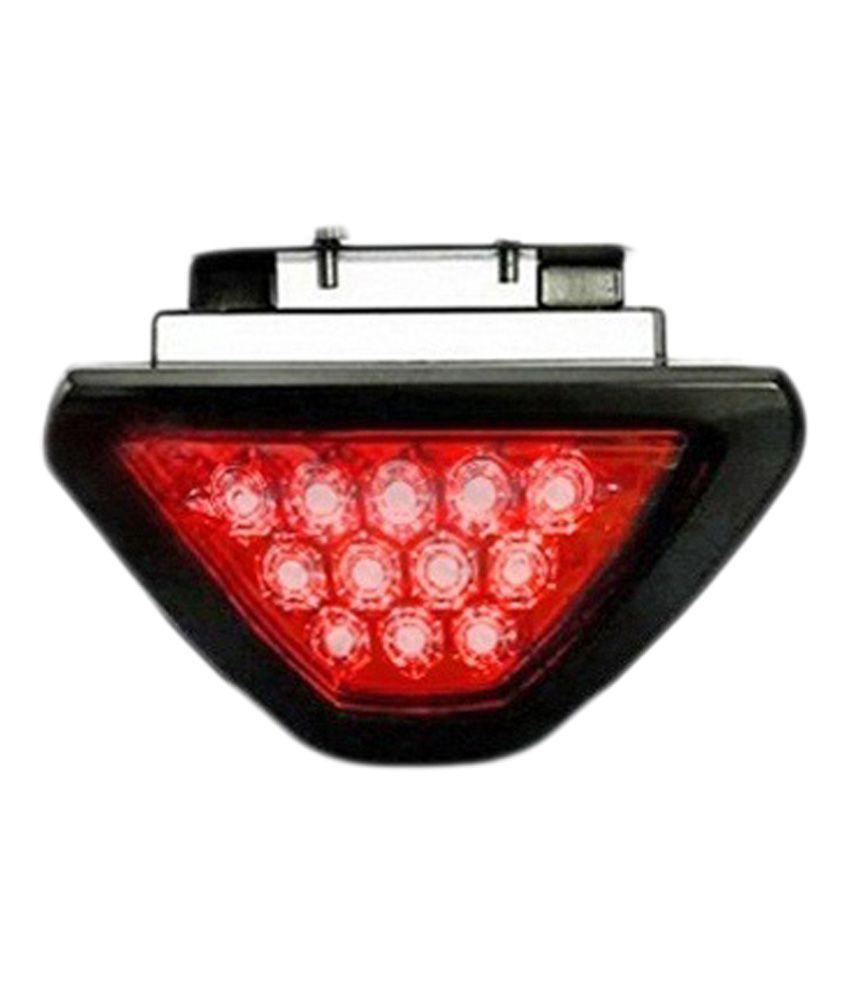 Takecare 12 Red LED Flashing 3rd Brake Lamp Light for Hyundai Eon