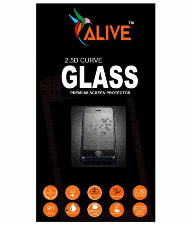 Micromax Canvas Doodle 3 A102 Tempered Glass Screen Guard by Alive