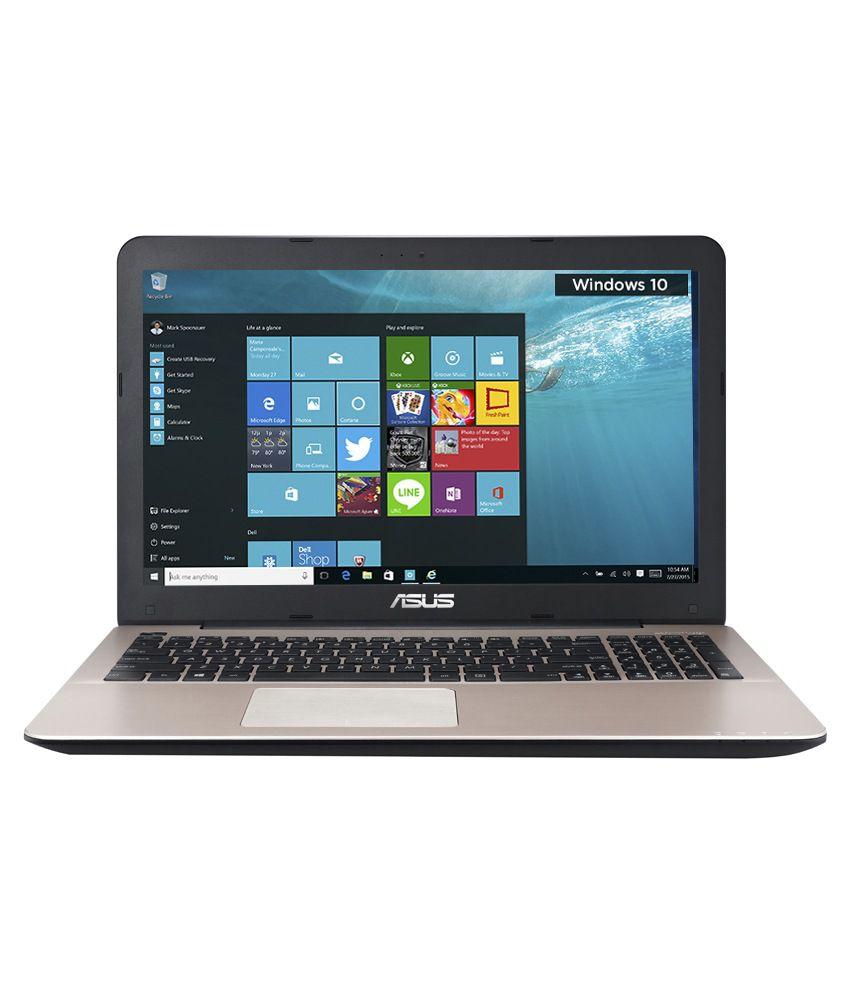 Asus A555LF-XX191T Notebook (90NB08H1-M02550)(4th Gen Intel Core i3- 4 GB RAM- 1TB HDD- 39.62 cm (15.6)- Windows 10- 2GB Graphics)(Brown)