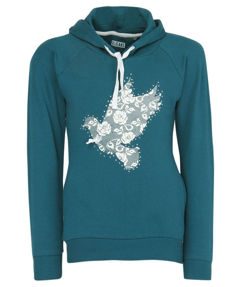Gini & Jony Blue Hooded Sweatshirt