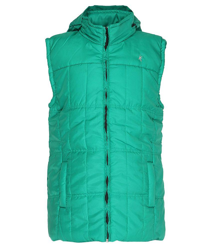 Gini & Jony Green Hooded Jacket